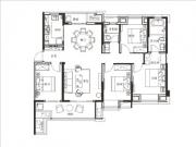 平层1#2#3#142㎡四房两厅两卫两阳台