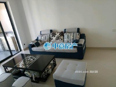 中海国际 三室两厅一卫 高层精装 新房出租 家电齐全 111平-莆田租房