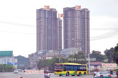 祥和山庄 万达广场附近  中层  单价11100元 南北东-莆田二手房