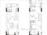 三期58㎡三房户型图