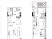三期58㎡两房户型图