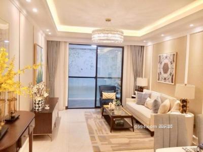 新一中旁凤达滨河豪园中高层92平刚需三房精装修拎包入住-莆田二手房