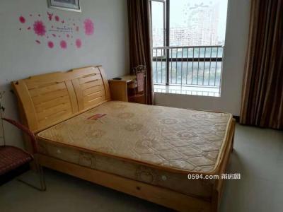 荔能华景城 中档装修单身公寓 有阳台 家具家电齐全 只要1500-莆田租房