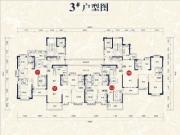 3#楼01、02户型121㎡三房