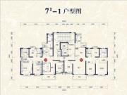 7#楼01、02户型178㎡四房