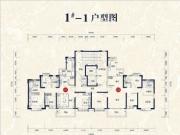 1#楼01、02户型142㎡四房