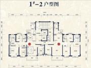 1#楼03、05户型178㎡四房
