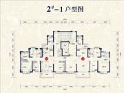 2#楼01、02户型147㎡四房