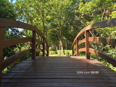 安特紫荆城,独栋别墅,周围是花草树木,沐浴大自然阳光-莆田二手房