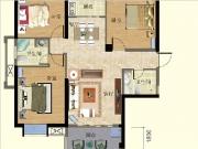 2#楼125㎡三房两厅