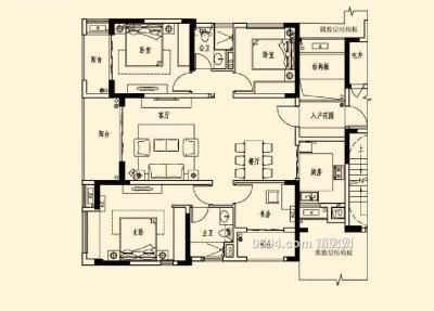 万科二期 143平仅售186万 房东出过户费 三面采光 速度-莆田二手房