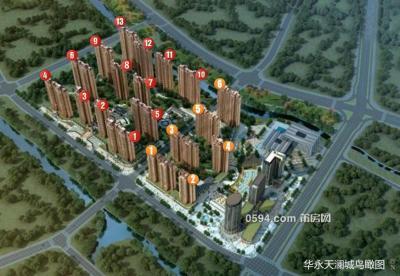 华永天澜城精致两房8496元/㎡小高层只要70.3万超低首付-莆田二手房