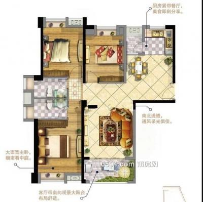 华永天澜城南北东黄金楼层高层大三房只要9955/㎡舞动全城-莆田二手房