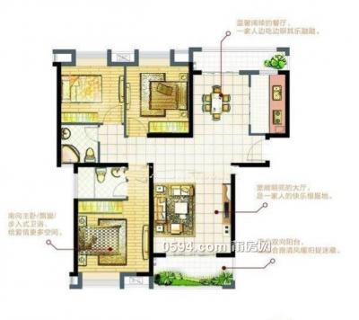 天澜城 20以上高层三面采光 只要9300-莆田二手房