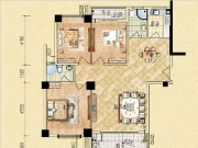 3#129㎡三房两厅两卫