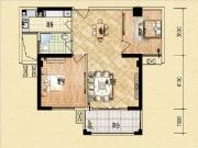3#91㎡两房两厅一卫