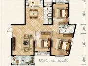 7#154-159㎡三房两厅两卫两阳台