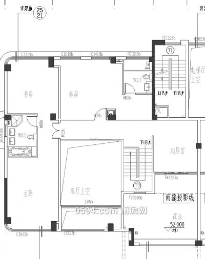 城东高端大盘皇庭水岸空中别墅实用超600㎡售17500/㎡-莆田二手房