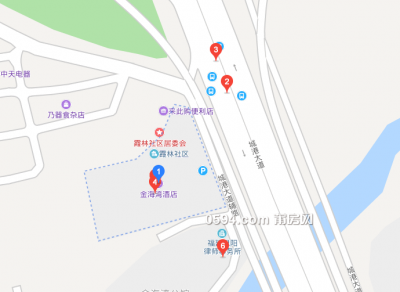 出租金海湾毛坯写字楼 6间 327平 租金便宜-莆田租房