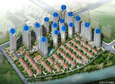 东城一号 高性价比2房 楼层好 朝向也好 95万-莆田二手房