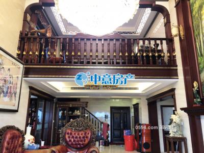 装修300多万 祥荣荔树湾楼中楼 三层空中别墅 使用面积500平-莆田二手房