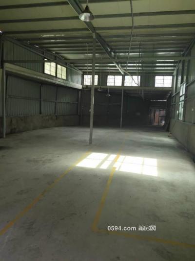 厂房,仓库 交通方便 集装箱车可以直接开进 有庭院300多平-莆田租房