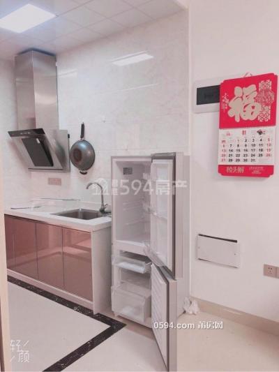 新四中附近《步康人才公寓》精装1房电梯房家具齐全拎包入-莆田租房