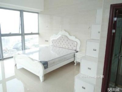 正荣财富,高层两面光全白豪装欧式单身公寓出租,邻-莆田租房