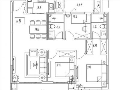 5#8#9#12#13#15#105㎡三房两厅两卫
