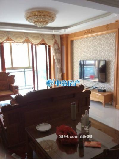 鳳達濱河豪園3房2廳2衛高層豪華裝修 南北東證滿2年-莆田二手房