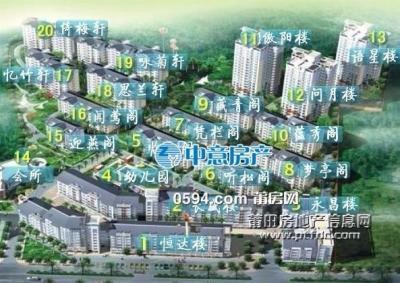 万达对面 荔景广场 精装大四房 全新装修 高层南 -莆田二手房
