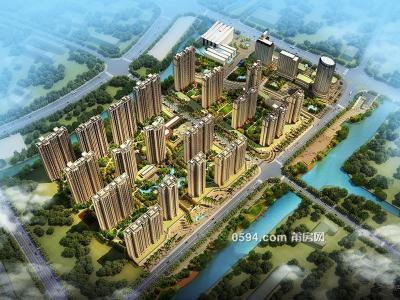 融创对面华永天澜城高层4房132㎡南北通透售9200/㎡-莆田二手房
