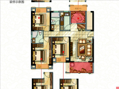 3#樓113㎡三房
