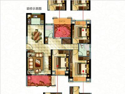 3#楼126㎡三房