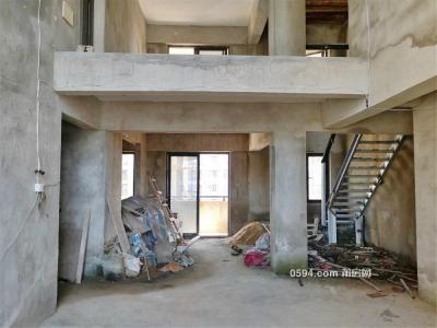 三层楼中楼,皇庭骏景可加盖带私人大露台,大六房证满二-莆田二手房