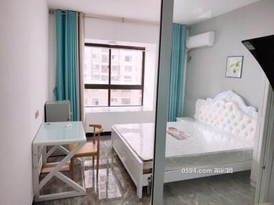 万达广场 单身公寓 带厨房 欧式风格高端精装修 可以-莆田租房