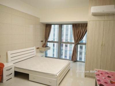 万达联创正荣财富正规单身公寓拎包入住看房有钥匙来-莆田租房