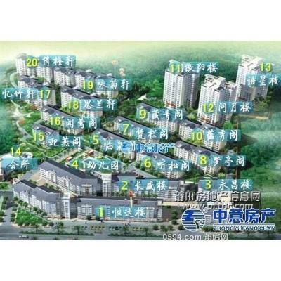 名邦豪苑--东南朝向标准户型--大型小区高层采光好仅17000元-莆田二手房
