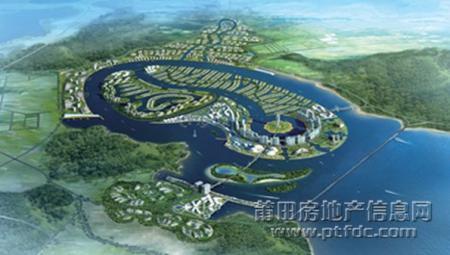 妈祖城如意岛规划