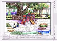 榕树广场效果图