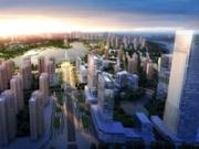 玉湖新城规划效果图2