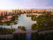玉湖新城规划景观图1