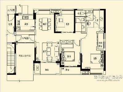 13、15-17#楼A3标准层户型