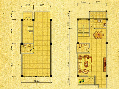 V9-V10别墅户型图