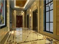 标准层电梯厅效果图01