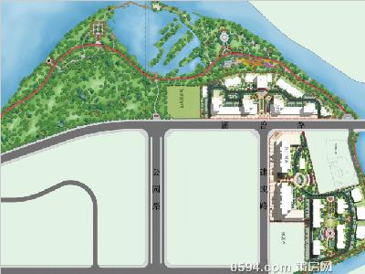 塘宁湾景观平面图新