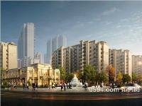 正榮府商業街透視日景