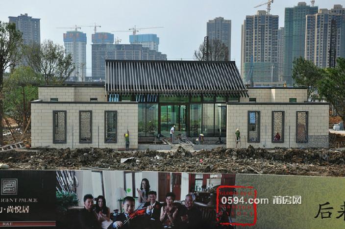 2016年6月10日售楼部工程进度