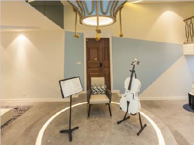 140㎡別墅音樂室