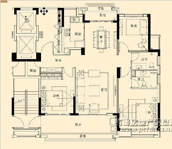 6、8-11#楼B3标准户型